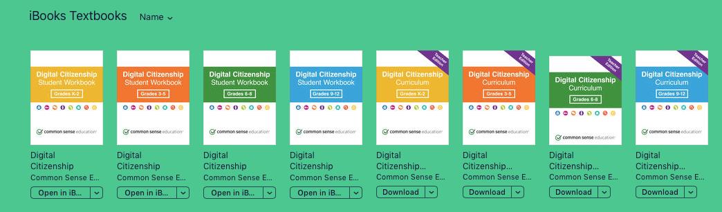 ALERT! Digital Citizenship iBook Lessons
